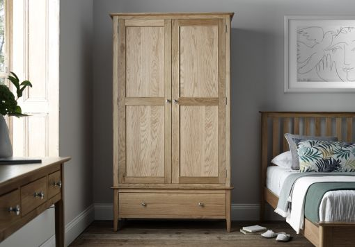 Newport Oak 3 + 2 Drw Chest
