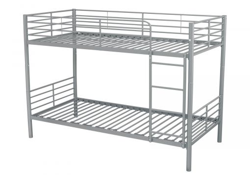 Apollo Silver Bunk Bed Frame