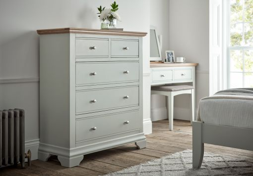 Bayford Grey Dressing Table Mirror