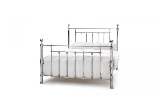 Amora Nickel Bed Frame