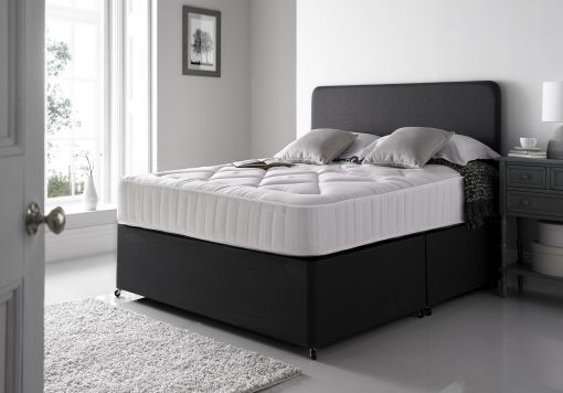 Cheltenham Upholstered Divan and Mattress