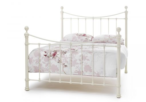 Suzie Ivory Gloss Bed Frame