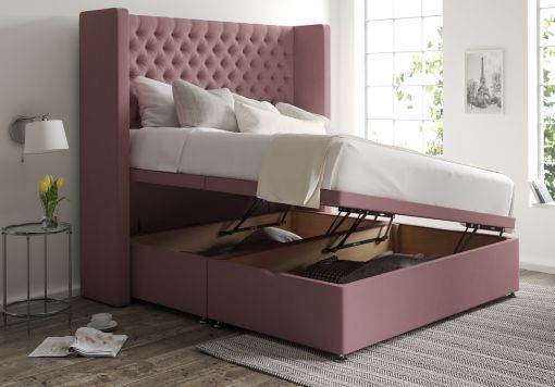 Emma Ottoman Gatsby Rose Headboard and Base Only