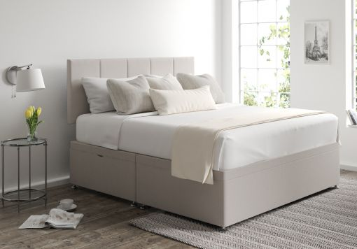 Hannah Ottoman Arran Natural Headboard and Base Only