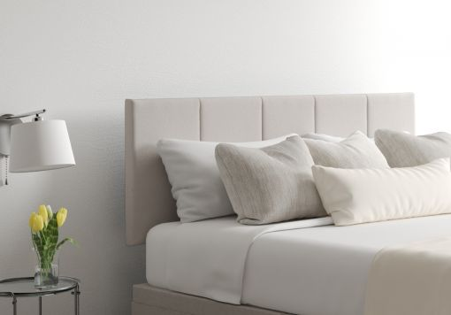Hannah Arran Natural Upholstered Headboard