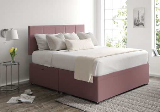 Hannah Ottoman Gatsby Rose Headboard and Base Only