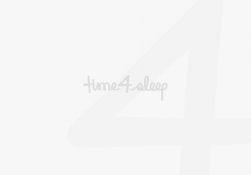 Louie Wooden Sleigh Bed - Oak Finish