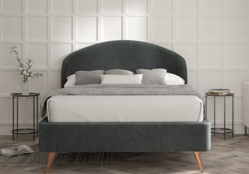 Lunar Savannah Ocean Upholstered Bed Frame Only