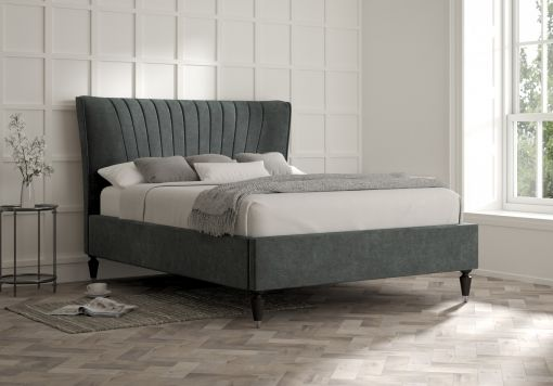Melbury Savannah Ocean Upholstered Bed Frame Only