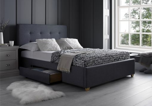 Milano Grey 2 Drawer