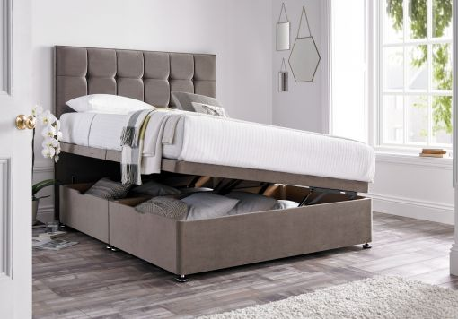 Harbour East Upholstered Ottoman Base And Headboard Only