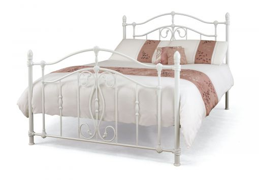 Mabel White Bed Frame