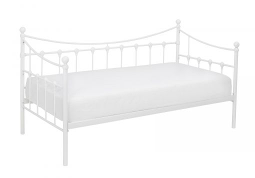 Olivia White Day Bed With Trundle