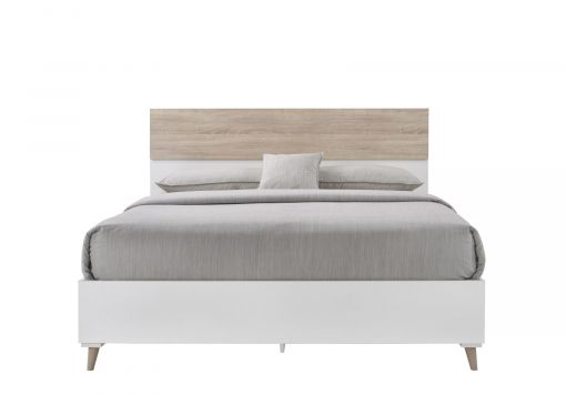 Stockholm White Double Bed Frame
