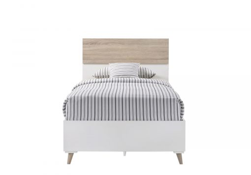 Stockholm White Single Bed Frame