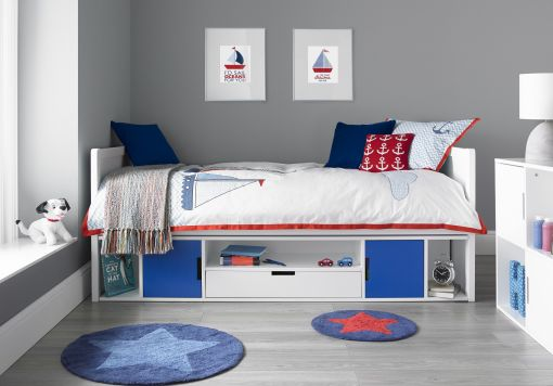 Vancouver Cabin Bed - Blue