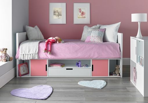 Vancouver Cabin Bed - Pink