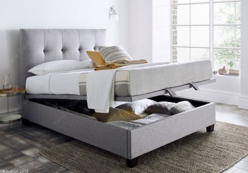 Kaydian Walkworth Ottoman Storage Bed - Marbella Grey