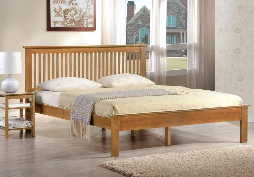 Harmony Windsor Oak Finish Bed Frame