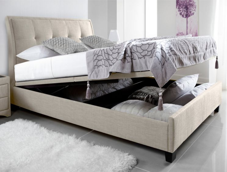 Kaydian Accent Upholstered Ottoman Storage Bed