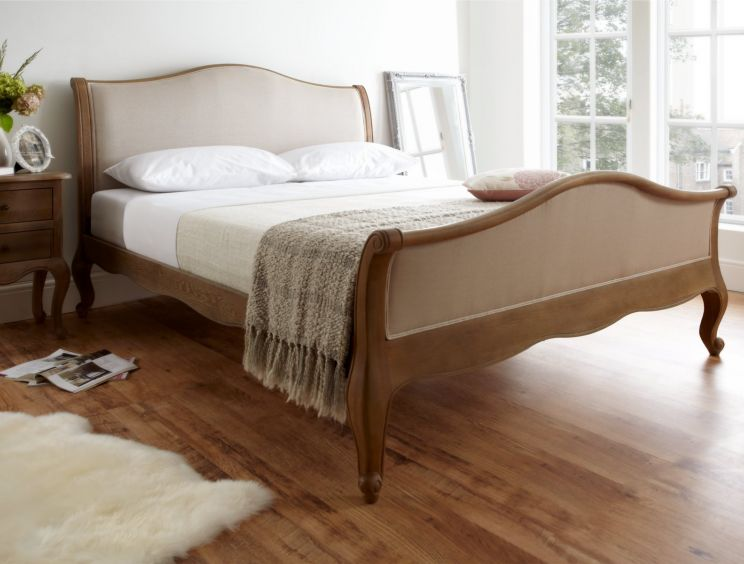 Amelia Oak Bed Frame - HFE