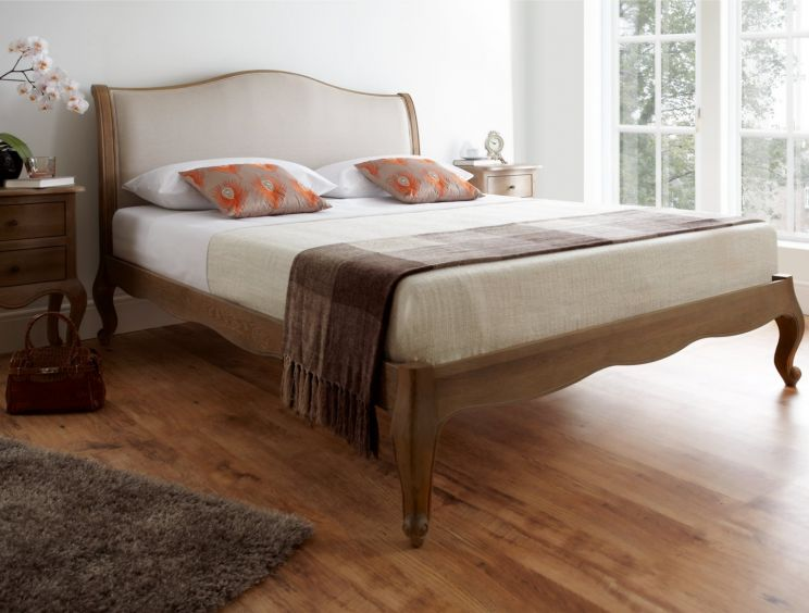 Amelia Oak Bed Frame - LFE