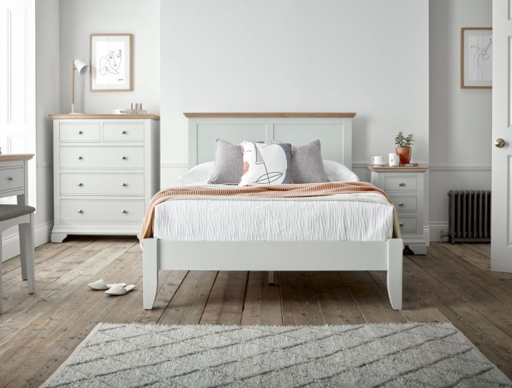 Bayford Classic Grey Wooden Bed Frame