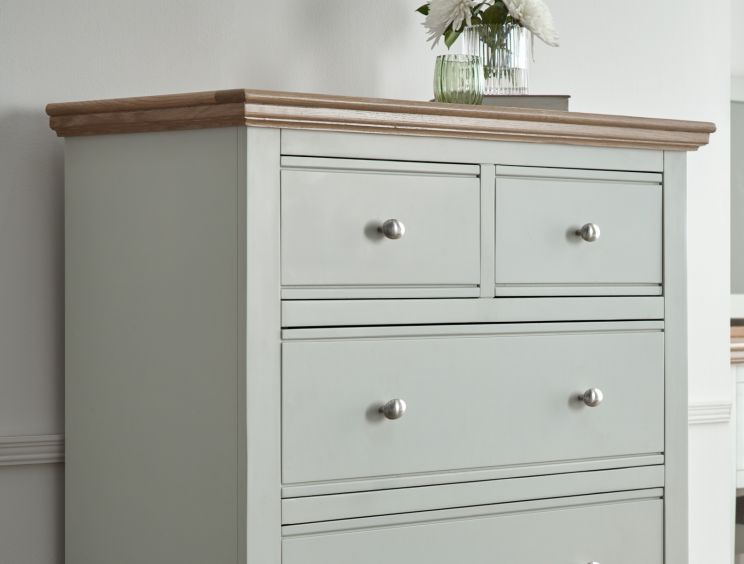 Bayford Grey 5 Drawer Chest