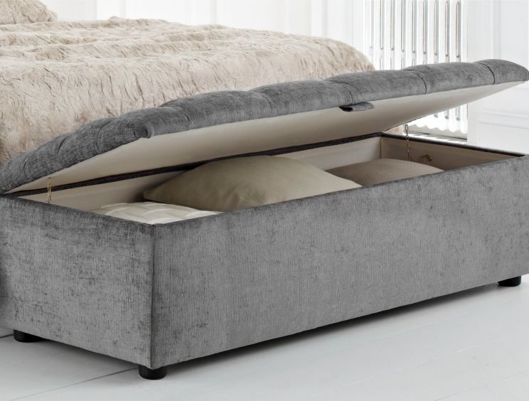 Ascot Tufted Upholstered Blanket Box