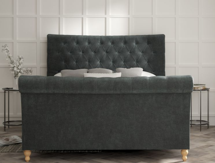 Cavendish Savannah Ocean Upholstered Sleigh Bed Only