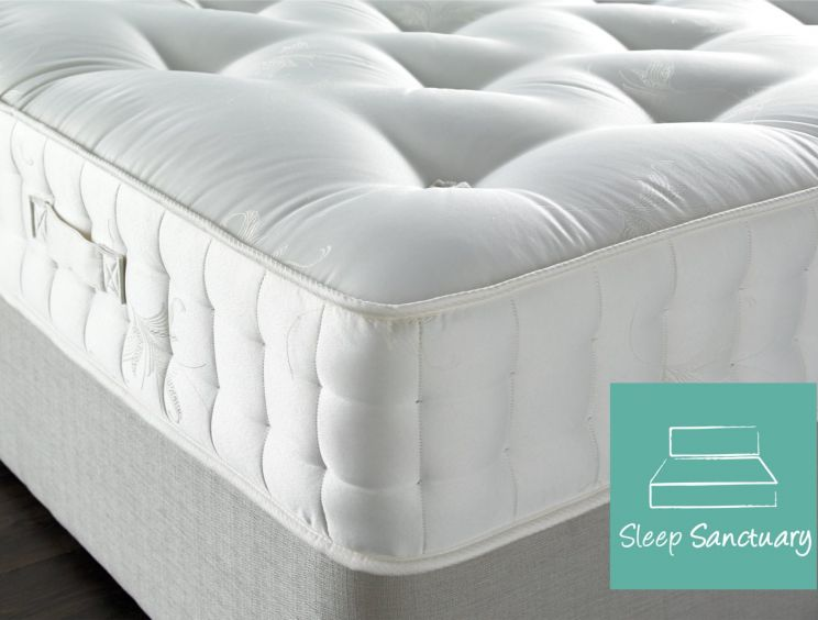 Sleep Sanctuary Crystal 3000 Pocket Mattress