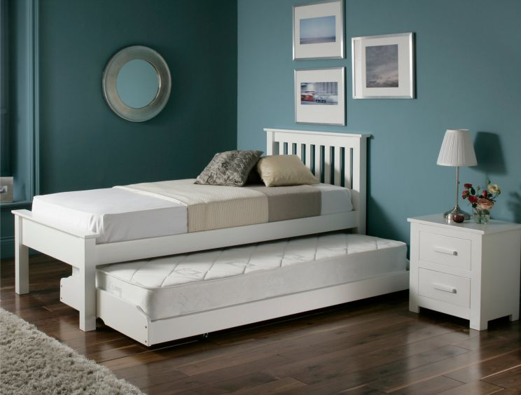 Denver Guest Bed - White
