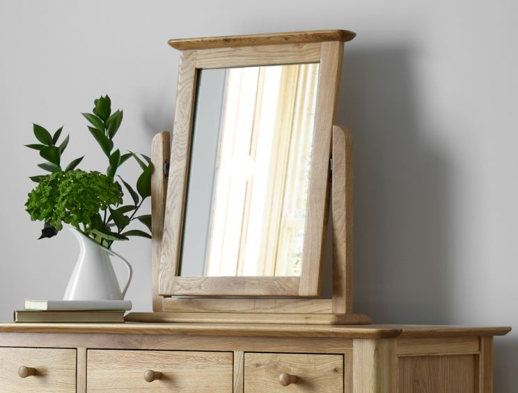 Newport Oak Mirror