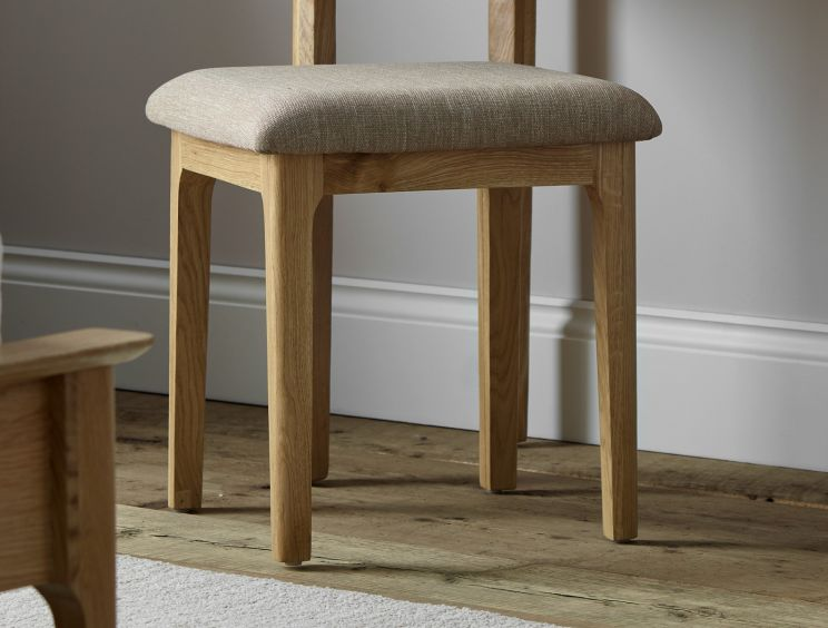 Newport Oak Stool