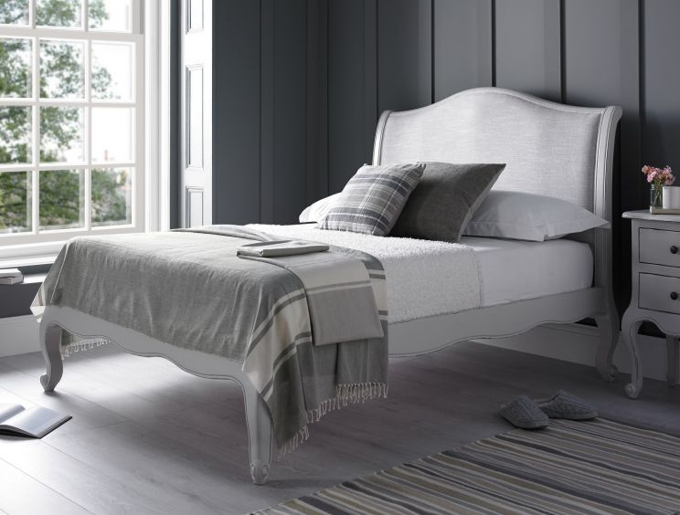 Emily Grey Bed Frame - LFE