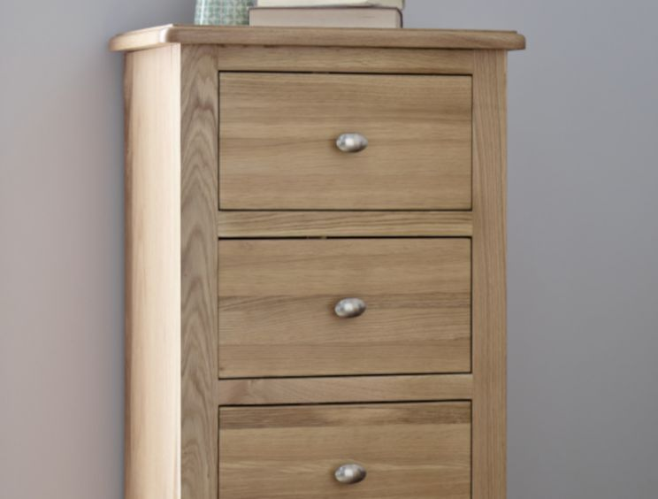 Gainsborough Light Oak 5 Drawer Tallboy