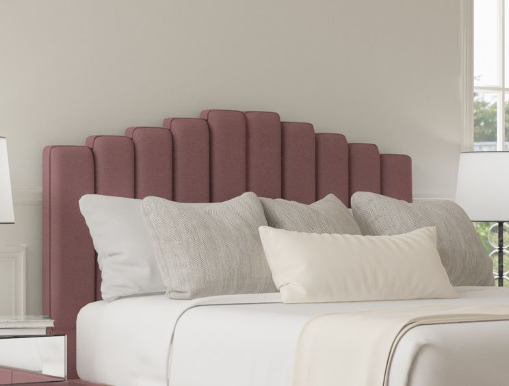 Quinn Ottoman Gatsby Rose Headboard and Base Only