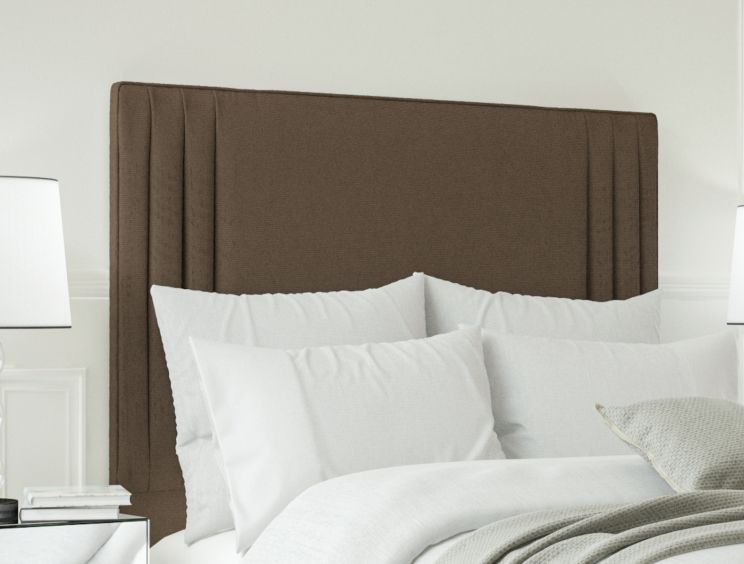Faith Gatsby Taupe Floor Standing Upholstered Headboard