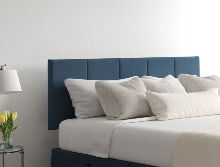 Hannah Classic 4 Drw Arran Cyan Headboard and Base Only