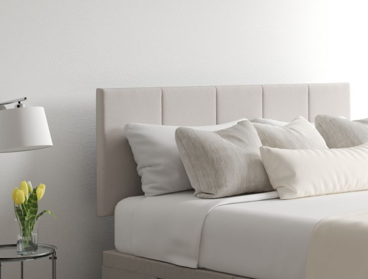 Hannah Classic 4 Drw Continental Arran Natural Headboard and Base Only
