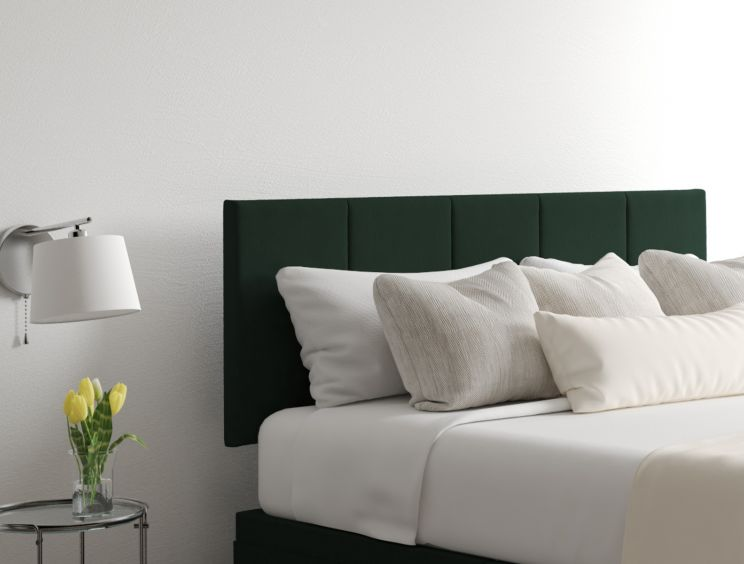 Hannah Classic 4 Drw Gatsby Forest Headboard and Base Only
