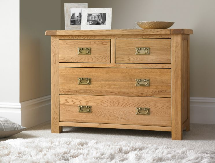 Heritage Oak 2 + 2 Chest
