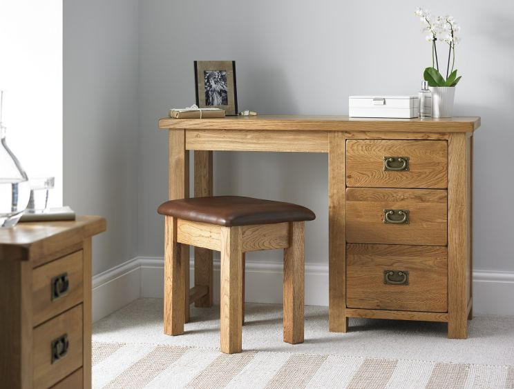 Heritage Oak Dressing Table