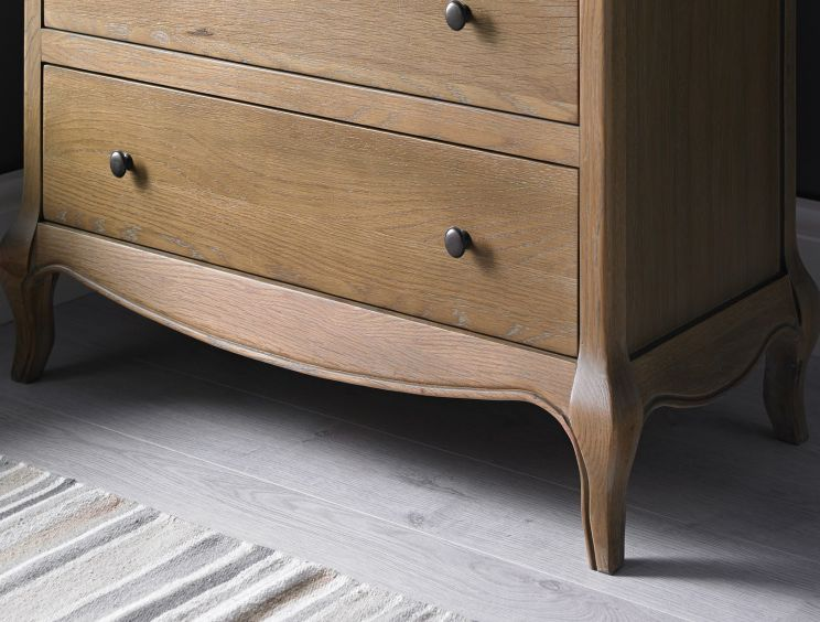 Loire Weathered Oak 3 Drawer Chest