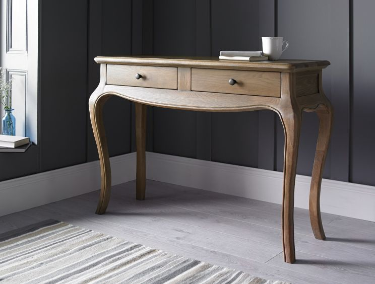 Loire Weathered Oak Dressing Table