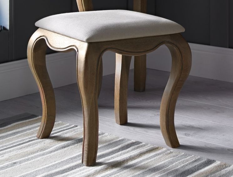 Loire Weathered Oak Stool