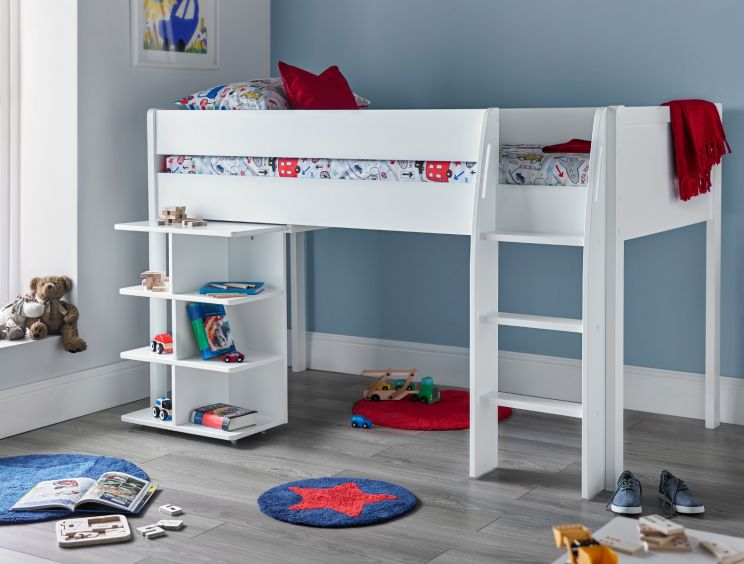 Montana Mid Sleeper With Desk
