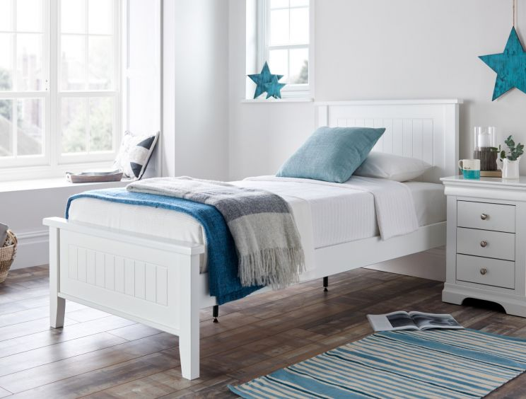 New England Solo Wooden Bed Frame