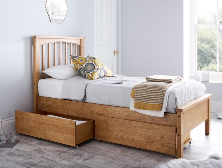 Oakridge Solo Wooden Bed Frame LFE
