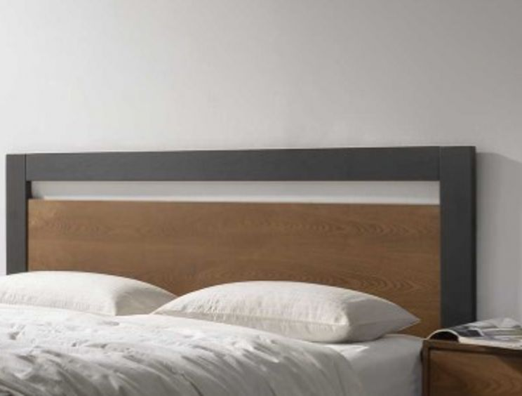 Harmony Olivia Charcoal Wooden Bed Frame Only